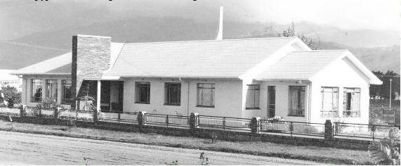 Die tweede pastorie opgerig in 1971